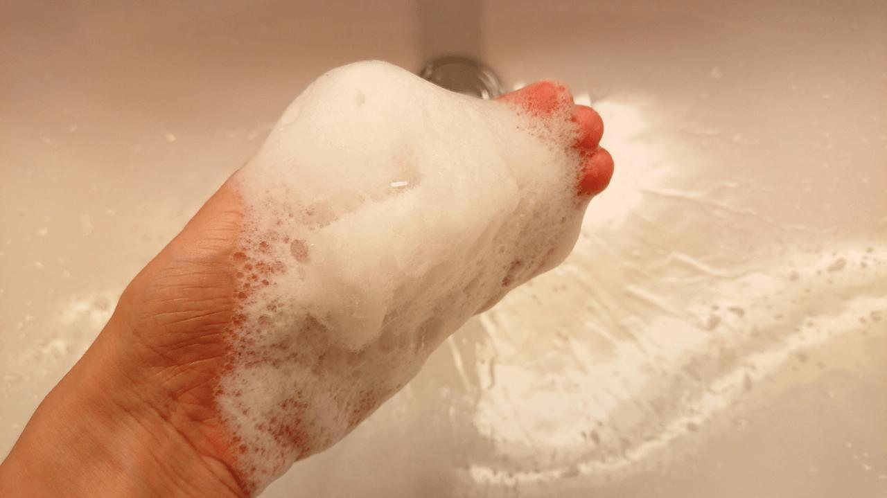 エリクシール洗顔